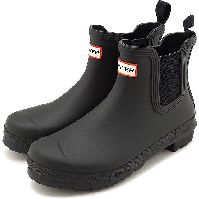 レインシューズ・長靴, ブーツ・長靴 12 HUNTER W ORIGINAL CHELSEA WFS2078RMA-BLK SS20 BLACK