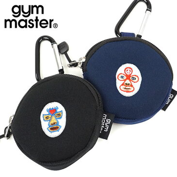 【楽天カードで4倍】ジムマスター gym master ハッピー刺繍コインケース [G421610 SU20] メンズ・レディース アクセサリーポーチ 【メール便可】