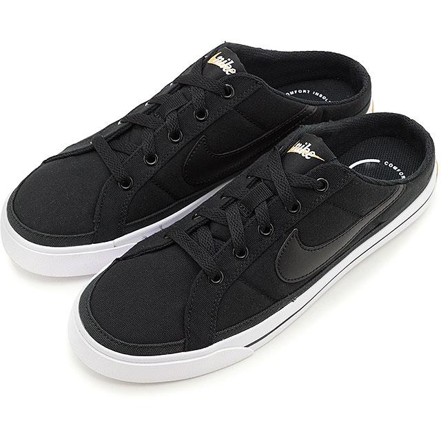 レディース靴, スニーカー 228 23:595 NIKE W COURT LEGACY MULE DB3970-001 SS21 e