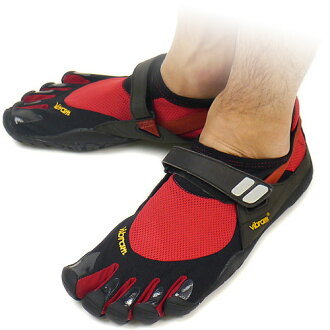 Five Vibram FiveFingers vibram five fingers men TREK SPORT Red/Black vibram five fingers finger shoes raise of wages foot (M4438) fs3gm