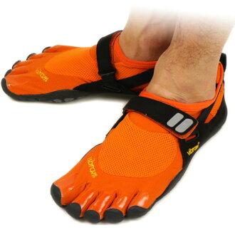 ■ 35 %OFF! surprise ■ Vibram FiveFingers Vibram five fingers mens TREK SPORT Orange/Black/Grey Vibram five fingers five finger shoes barefoot ( M4483 )