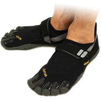 Vibram FiveFingers Vibram five fingers mens TREK SPORT Black/Charcoal Vibram five fingers five finger shoes barefoot ( M4485 ) fs3gm
