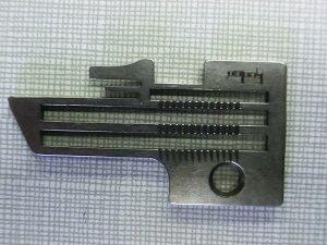 ヤマトミシン2本針4本糸オーバーロックミシンDCZ-720−Y用の針板