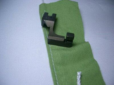 【新品】SSMPF518L工業用紐縫い押さえ金コンシールファスナー押えにも◎