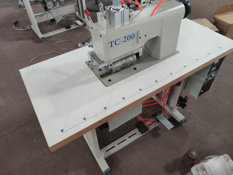 新製品 超音波ミシン モデルNo-SSM-TC-200型単相200V別注にて、単相100V仕様もお受けします。レンタル1日\3,000−税、往復運賃別。