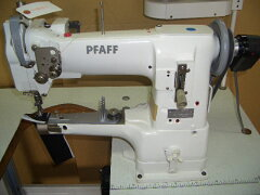 761011【中古】 ドイツパフ社335-H3型 1本針総合送りミシン