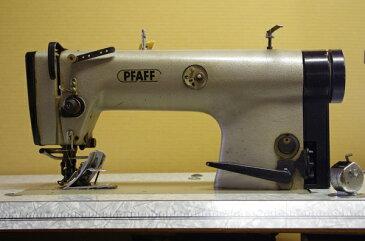 【中古】 パフ Pfaff 工業用ミシン 487-6/41-650/01-BS ベルト ベルト落とし 200V