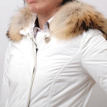 ウールリッチ WOOLRICH リアルファー付 ダウンジャケット アークティックパーカ ホワイト [レディース] 大きいサイズあり WWCPS2604 CF40 8270