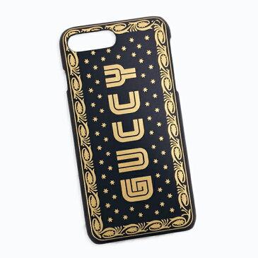 グッチ GUCCI SEGA ロゴ GUCCY iPhone8 Plus用 スマホケース カバー ブラック基調 519696 0GUYN 1055【イタリア最新入荷】 【○B8】