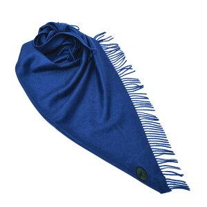 Burberry BURBERRY cashmere bandana muffler blue [ladies] 4076846 CADET BLUE