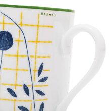 エルメス HERMES ウォーク  イン ザ ガーデン マグカップ シングル 300ml 食器 陶器 043031【〇K2】