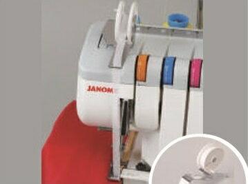 ジャノメロックミシン(JANOME)ドリームロック・30S(1)テープ付けセット【代引き決算不可】