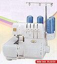 糸かけはエアーでワンタッチ、2本針4本糸だからニットソーイングに最適!!(株)ジューキ べ...