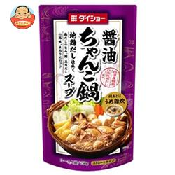 【送料無料】【2ケースセット】ダイショー ちゃんこ鍋スープ 醤油味 750g×10袋入×(2ケース) ※北海道・沖縄は別途送料が必要。