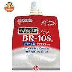 マンナンライフ 蒟蒻畑プラス BR-108 ヨーグルト味 150gパウチ×30本入