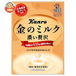 カンロ 金のミルクキャンディ 80g×6袋入