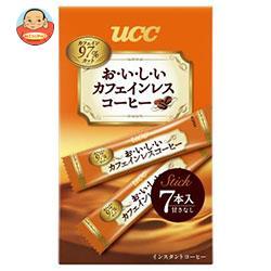 【送料無料】【2ケースセット】UCC おいしいカフェインレスコーヒー スティック 7P×24(6×4)箱入×(2ケース) ※北海道・沖縄は別途送料が必要。