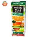 明治 Minute Maid (ミニッツメイド) フルーツ&ベジタブル100% 200ml紙パック×24本入