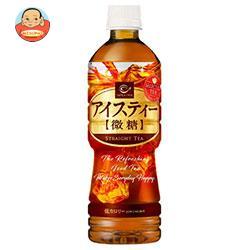 ポッカサッポロ カフェ・ド・クリエ アイスティー 微糖 500mlペットボトル×24本入