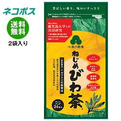 【全国送料無料】【ネコポス】十津川農場 ねじめびわ茶24 (2gティーバッグ 24包入) 24P×2袋入