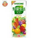 カゴメ 野菜生活100(緑)200ml 紙パック×24本入