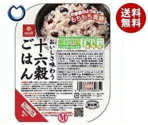 【送料無料】はくばく 十六穀ごはん 無菌パック 150g×12(6...