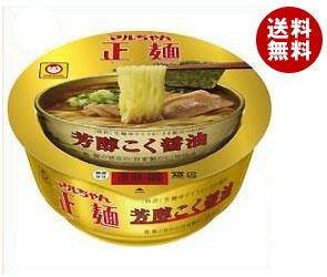 【送料無料】東洋水産 マルちゃん正麺 カップ 芳醇こく醤油 111g×12個入 ※北海道・沖縄…