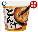 【送料無料】【2ケースセット】旭松食品 カップ生みそずい とん汁 75g×6個入×(2ケース) ※北海道・沖縄・離島は別途送料が必要。