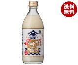 送料無料 天領食品 造り酒屋の濃厚甘酒 500g瓶×12本入 ※北海道・沖縄・離島は別途送料が必要。