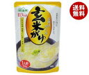【送料無料】丸善食品工業 テーブルランド 玄米がゆ 250gパウチ×24(12×2)袋入 ※北海道・沖縄・離島は別途送料が必要。