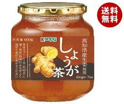 送料無料 【2ケースセット】カンピー しょうが茶 600g瓶×12個入×(2ケース) ※北海道・沖縄・離島は別途送料が必要。