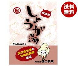 送料無料 【2ケースセット】樋口製菓 しょうが湯 15g×4袋×20個入×(2ケース) ※北海道・沖縄・離島は別途送料が必要。