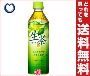 期間限定特価!【送料無料】キリン 生茶500mlPET×24本入【お花見】