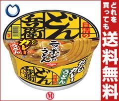 【送料無料】日清食品日清のどん兵衛カレーうどん [西]94g×12食入
