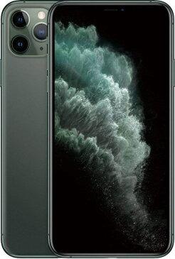 SIMフリー Apple iPhone 11 Pro Max デュアルSIM 512GB LTE (緑) 香港スペック MWF82ZA/A 新品 スマホ本体 1年保証