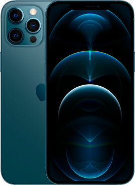 SIMフリー Apple iPhone 12 Pro Max デュアルSIM 512GB 5G 青 香港版 MGCE3ZA/A 新品 スマホ本体 1年保証