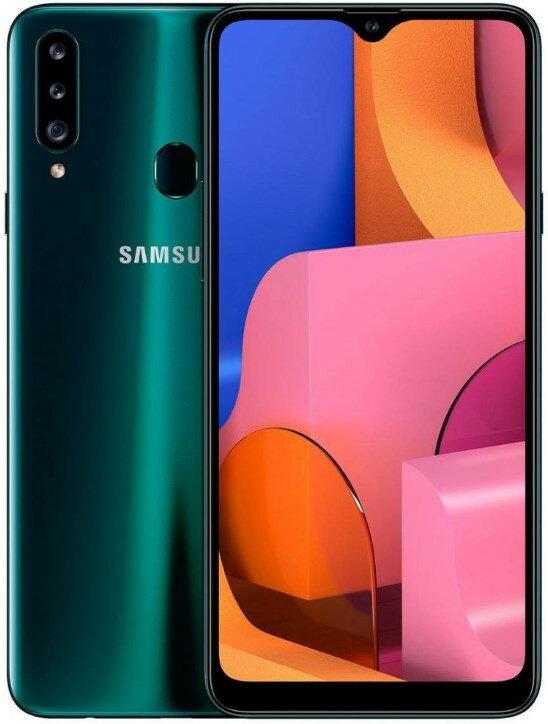 スマートフォン・タブレット, スマートフォン本体 Samsung Galaxy A20s A207FD Dual Sim 3GB RAM 32GB LTE SIM 1