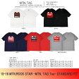 15-16 MTN,ROCK STAR [マウンテンロックスター] MTN.TAG Tee -STANDARD FIT- Tシャツ【smtb-k】【ky】