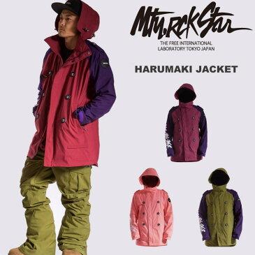 【50%OFF】15-16 MTN,ROCK STAR [マウンテンロックスター] HARUMAKI JACKET / スノーボード ウェア ジャケット セール【送料無料】【代引手数料無料】