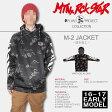 16-17 MTN.ROCK STAR(マウンテンロックスター)M-2 HOODED JACKET/VINTAGE -Plan B project- (パーカー)[16-17 EARLY MODEL / 入荷済み][送料無料][撥水/防風/防水パーカー]
