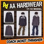 17-18AAHARDWEAR(ダブルエーハードウェア)COACHJACKET-THRASHER-[スラッシャー/コーチ]早期予約割引10%OFF【送料無料】【代引き手数料無料】【日本正規品】