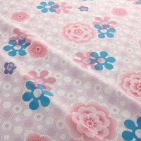 【浴衣と帯のセット】日本製紫陽花(あじさい)旅館浴衣【業務用】【遠州織物】