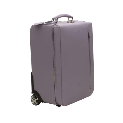 aa65c49d43 ... 水筒 | アウトレット品 | Pineider | ピネイダー·CITY CHICコレクション-トロリーバッグC.C. | ライラック |  カバン | スーツケース | キャリーバッグ送料無料
