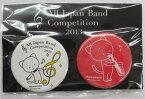 ナカノ こまねこ 缶バッチ サックスAll Japan Band Comoetition 2013 コマネコ カンバッジ バッジ