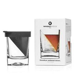 コークシクルウイスキーエッジWEDGEスピード発送!ウィスキーグラスcorlcicleグラスに直接斜めの氷を作ることができるコップラッピング無料!ギフト、贈り物、プレゼントに!