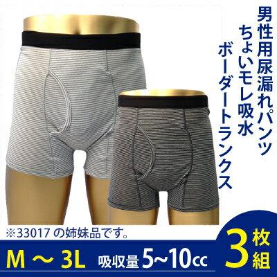 男性用失禁パンツ(吸水量5-10cc対応)ちょ...