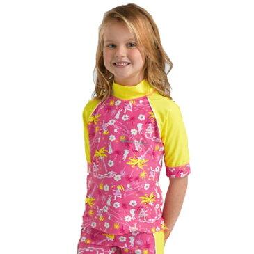 【あす楽対応可】キッズラッシュシャツ(ST2303H)半袖上着トップス紫外線対策・UVカット水着オーストラリア直輸入ラッシュガード!【smtb-k】【w1】【RCP】【楽ギフ_包装】【日本製】