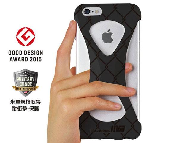 スマートフォン・携帯電話用アクセサリー, ケース・カバー GOODS x66s Palmo x mita sneakers for iPhone 6s Plus iPhone 6 Plus TRIPLE BLACK BLK (palmo6pms)