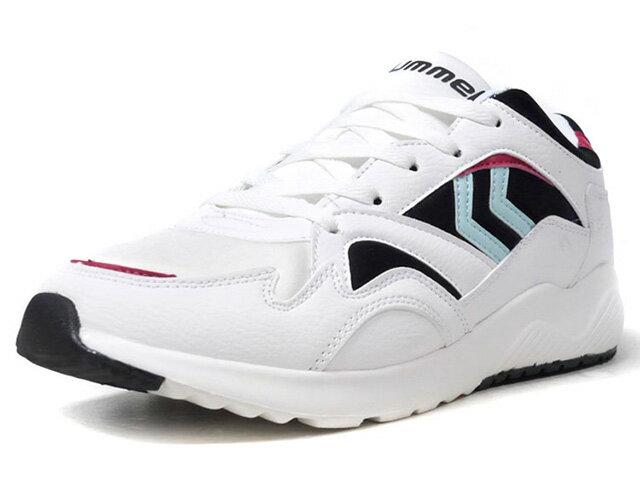 メンズ靴, スニーカー hummel EDOMONTON OG LIMITED EDITION for HUMMEL HIVE WHTPNKSAXBLK (HM201214-9001)
