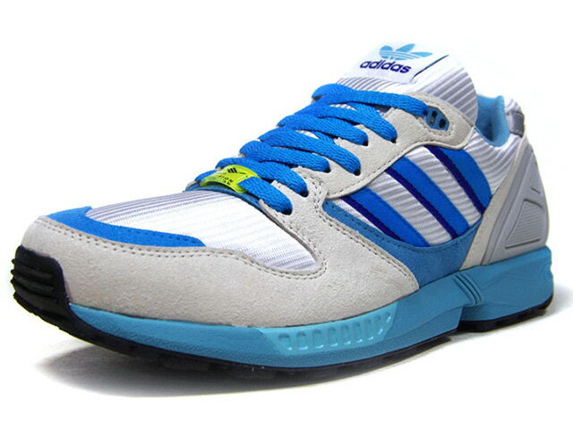 メンズ靴, スニーカー adidas 30 ZX5000 TORSION 30th ANNIVERSARY LIMITED EDITION for CONSORTIUM WHTL.GRYSAXPPL (FU8406)